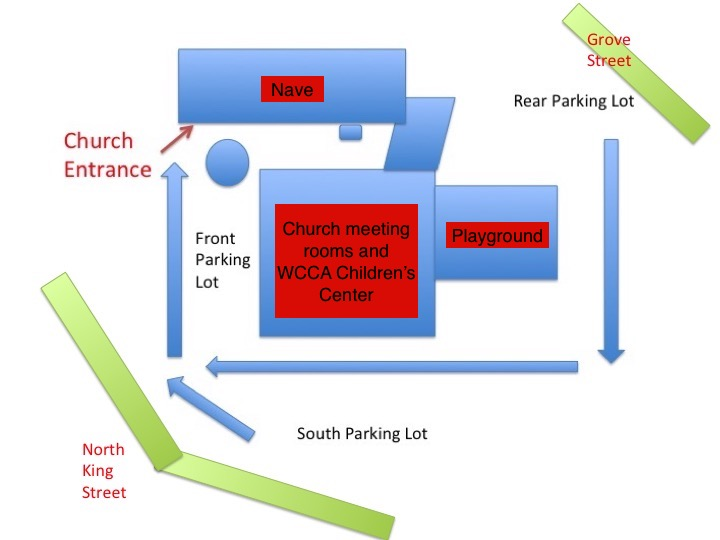 Revised guide to church entrance